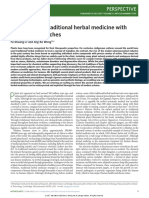 Demystifying Traditional Herbal Medicine With Modern Approach