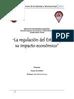 La regulacion del Estado y su impacto economico  ESIN.docx