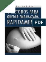 3 Metodos Para Quedar Embarazada Rapidamente