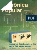 Eletrônica Popular Julho Agosto 1973