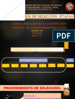 Procesos de Seleccion G-4