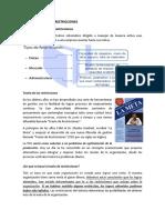 ADMISNITRACION DE RESTRINCCIONES