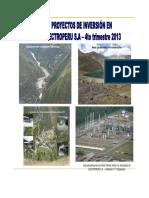Proyectos de Inversion Al 2013