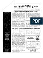 Spring 2005 Voice of the Mill Creek Newsletter, Mill Creek Watershed Council