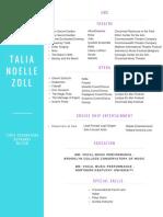 talia zoll resume