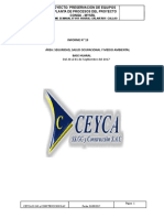 Informe Semanal de Seguridad - Base Huaral Del 28 Al 01 de Septiembre