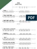 Ritmica - Material de Apoyo - Partitura Completa