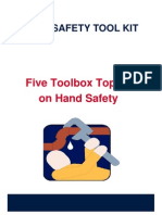 Hand Safety Toolkit - From IADC Website