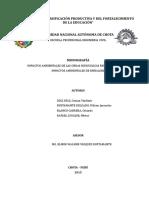 Monografia - Impactos Ambientales de Las Obras Hidráulicas en Ingeniería Civil. Introducción Impa - Copia