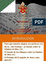 Verbum Domini Presentacion