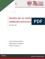 Laboratorio Redes de datos - Práctica 03