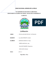 Liofilizacion ESPERANZA