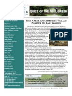 Summer-Fall 2008 Voice of the Mill Creek Newsletter, Mill Creek Watershed Council