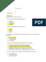 Quiz 1 Psicologia