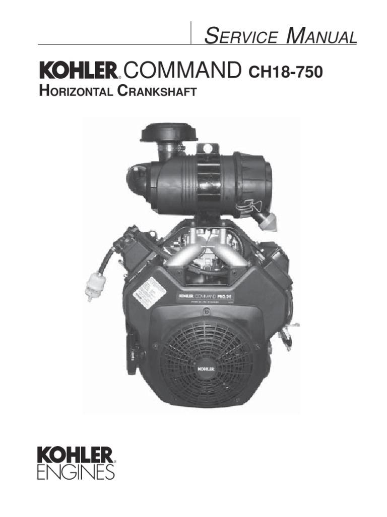 Kohler Command Cv20s Service Manual - Enthusiast Wiring Diagrams •
