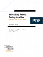 Subsidizing Rebels, Taxing Atrocities