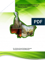 Plan de Prevención y Combate de Incendios Forestales Para El Municipio de Aguacatán