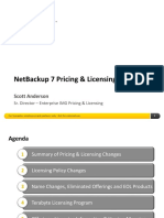 NetBackup7 PricingLicensing Overview