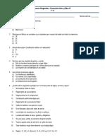 Examen Diagnóstico Formación Cívica y Ética