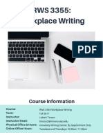 rws 3355 workplace writing onlinefall2017