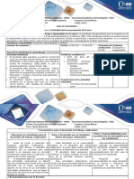 Guía de Actividades y Rúbrica de Evaluación Paso 1 - Desarrollar Actividad de Reconocimiento Del Curso