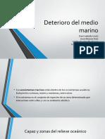 Deterioro Del Medio Marino
