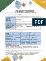 Guia de Actividades y Rùbrica de Evaluaciòn - Fase 1 - Reconocer Los Conceptos Del Curso