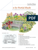 Garden Plan for Partial Shade