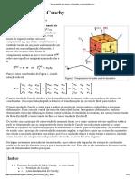 Tensor Tensão de Cauchy – Wikipédia, A Enciclopédia Livre