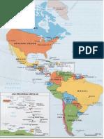 Mapa Americano