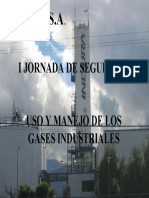 Uso y Manejo de Los Gases Industriales