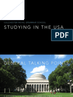 Studying in the USA Presentation PDF Version