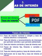Tasas de Interés (5)