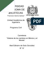 Carreteras en México y El Mundo