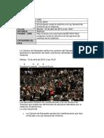 El Congreso Avala La Reforma a La Ley General de Víctimas de La Violencia