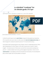 "Scientists Made a Detailed ""Roadmap"" for Meeting the Paris Climate Goals. It's Eye-opening"