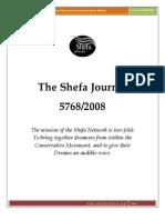 She Fa Journal 5768