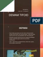 DEMAM TIFOID byRaf