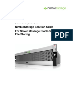 Nimblestorage Smb Solution Guide