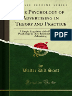 The Psychology of Advertising in Theory and Practice 1000044493