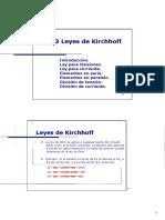 Leyes de Kirchhoff (2)