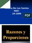 Matematica Tarea 4 Razones y Proporciones