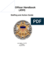 Joint Staff Officer Handbook 2012