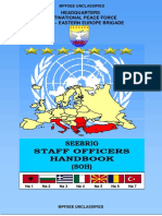 Staff Officers Handbook (March 2003)