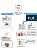 Mapa Conceptual de Frutales