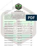 Heritage Classic Liability Sheet
