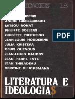AAVV - Literatura e Ideologias, Ed Paidos.pdf