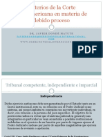 Corte InteramericanaDR. FCO.