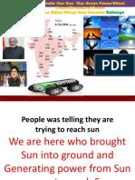 Power of Sun and Solar Energy (India Power)
