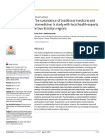 The coexistence of traditional medicine and biomedicine.pdf